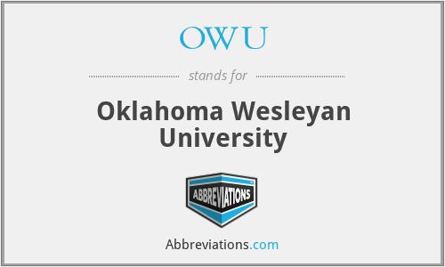 OWU - Oklahoma Wesleyan University