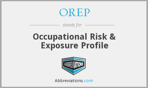 What does OREP stand for?