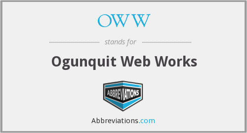 OWW - Ogunquit Web Works