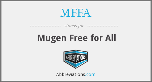What does MFFA stand for?