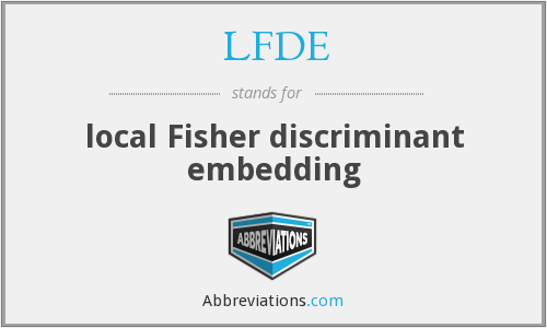 What does LFDE stand for?