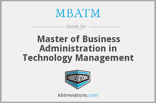 What does MBATM stand for?