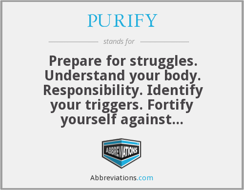 What does PURIFY stand for?