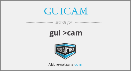 What does GUICAM stand for?