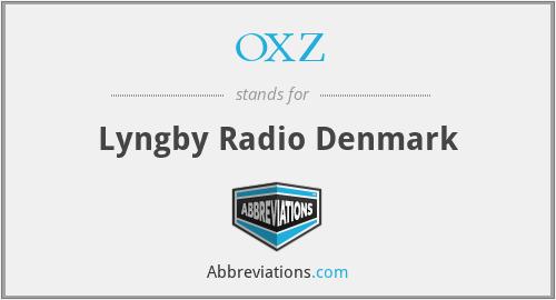 OXZ - Lyngby Radio Denmark