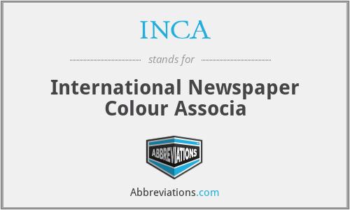 INCA - International Newspaper Colour Associa