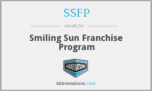 SSFP - Smiling Sun Franchise Program