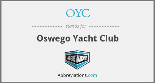 OYC - Oswego Yacht Club