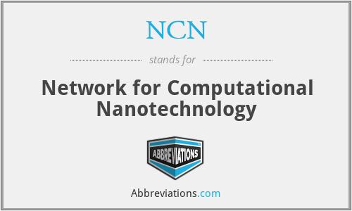 NCN - Network for Computational Nanotechnology
