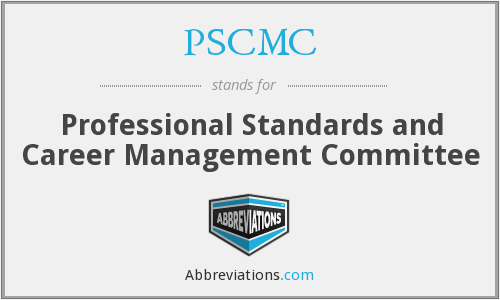 What does PSCMC stand for?