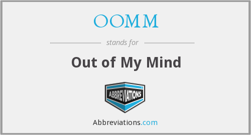 What does OOMM stand for?