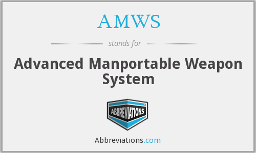 What does AMWS stand for?