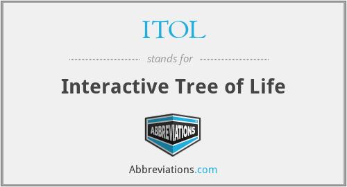 ITOL - Interactive Tree of Life