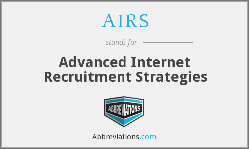 AIRS - Advanced Internet Recruitment Strategies