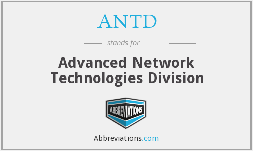 What does ANTD stand for?
