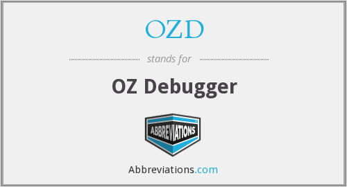 What does OZD stand for?