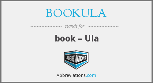 What does BOOKULA stand for?