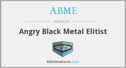 What does ABME stand for?