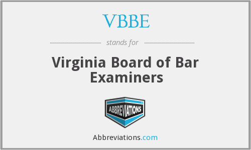 What does VBBE stand for?