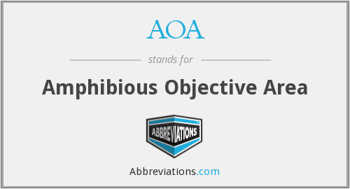 AOA - Amphibious Objective Area
