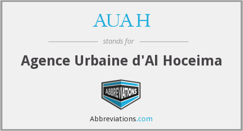What does AUAH stand for?