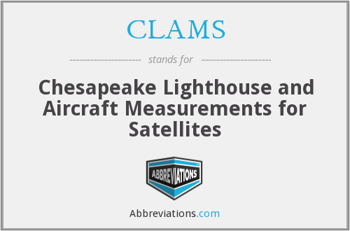 CLAMS - Chesapeake Lighthouse and Aircraft Measurements for Satellites