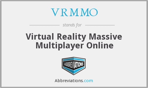 What does VRMMO stand for?
