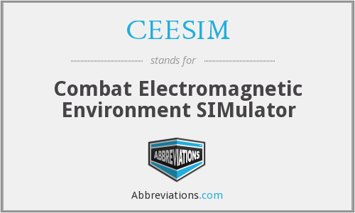 What does CEESIM stand for?