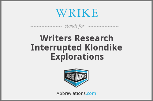 What does WRIKE stand for?