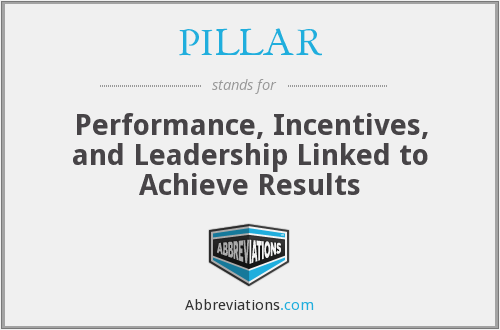 What does PILLAR stand for?
