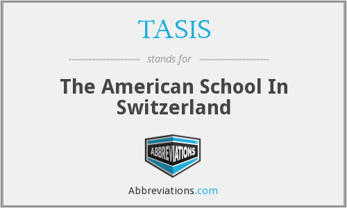 What does TASIS stand for?