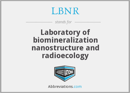 What does LBNR stand for?
