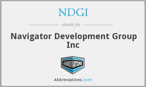 What does NDGI stand for?