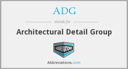 ADG - Architectural Detail Group