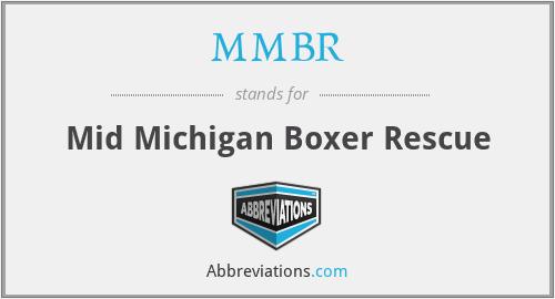 MMBR - Mid Michigan Boxer Rescue