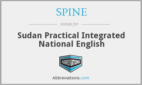 SPINE - Sudan Practical Integrated National English