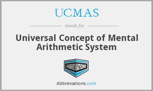 What does UCMAS stand for?