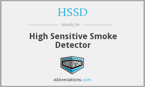 What does HSSD stand for?
