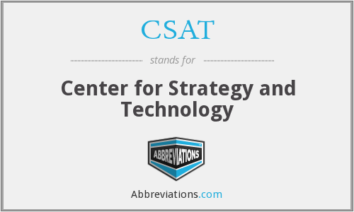 CSAT - Center for Strategy and Technology