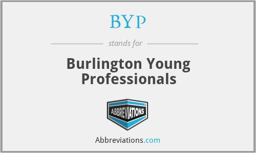BYP - Burlington Young Professionals