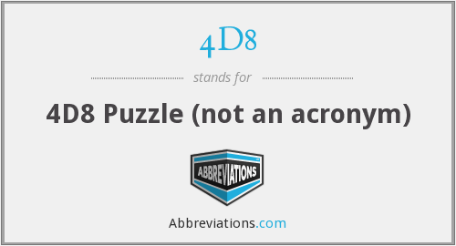 What does 4D8 stand for?