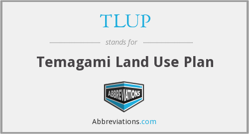 What does TLUP stand for?