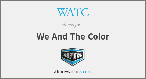 WATC - We And The Color