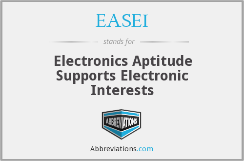 What does EASEI stand for?
