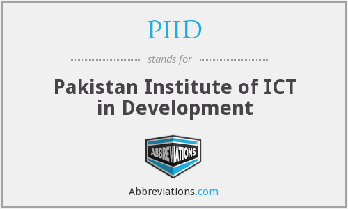 What does PIID stand for?