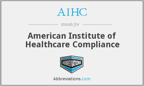 What does AIHC stand for?