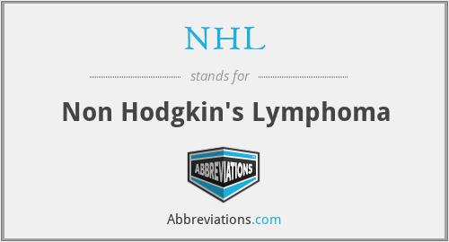 NHL - Non Hodgkin's Lymphoma
