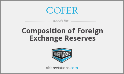 What does COFER stand for?