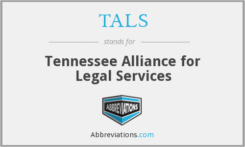 TALS - Tennessee Alliance for Legal Services
