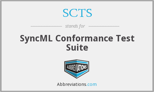 SCTS - SyncML Conformance Test Suite